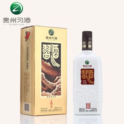 【贵州习酒】53度方品习酒 500ml 茅台酱香型白酒